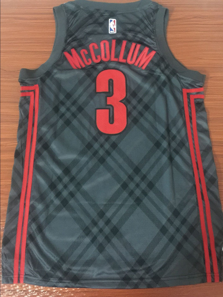 074d29d925d ... coupon code for men 3 c.j. mccollum city jersey black portland trail  blazers swingman jersey 991cb