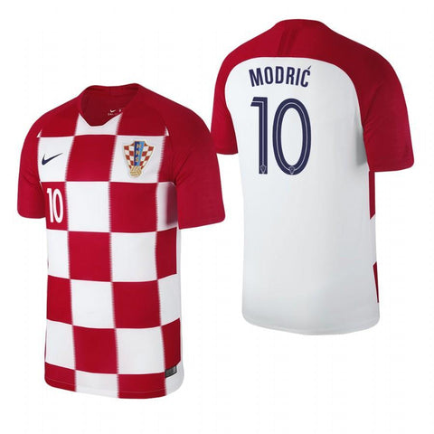 9baa6d786 Men  10 Luka Modrić Jersey Croatia National 2018 FIFA World Cup Fanatics