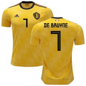 quality design 0bc6f 1f0a2 Men 7 Kevin De Bruyne Jersey Soccer Belgium Jersey 2018 World Cup Jersey