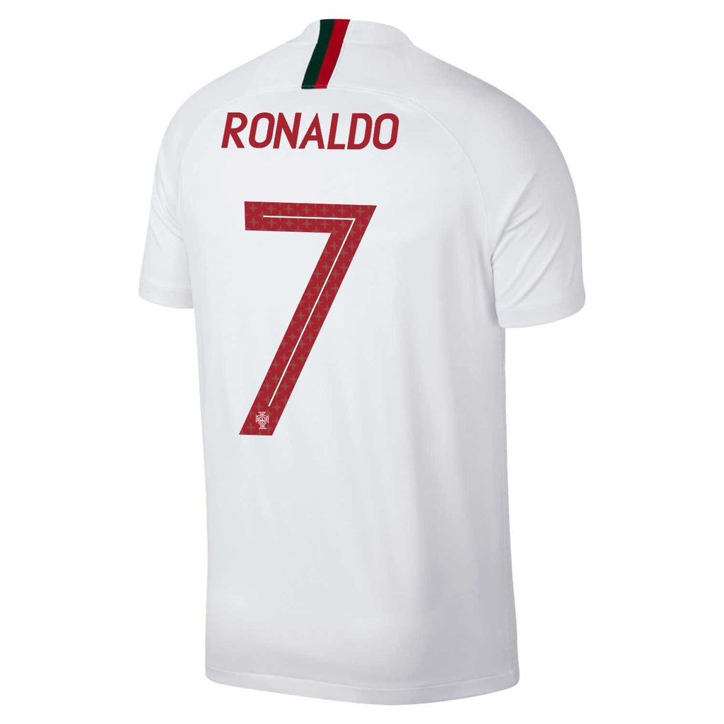 ... Men  7 Cristiano Ronaldo Jersey Away Portugal National 2018 FIFA World  Cup ... b740e30df