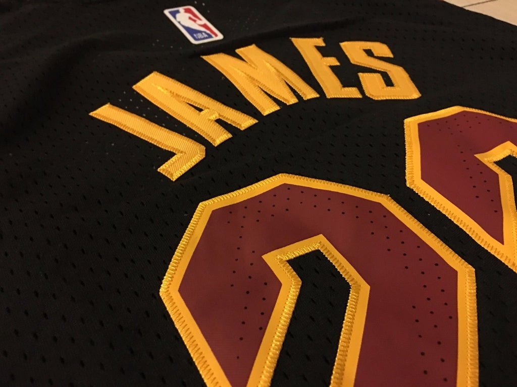 ... switzerland men cleveland cavaliers 23 lebron james jersey black  authentic player version 8b0ed ef9d6 ... 52c320a5f