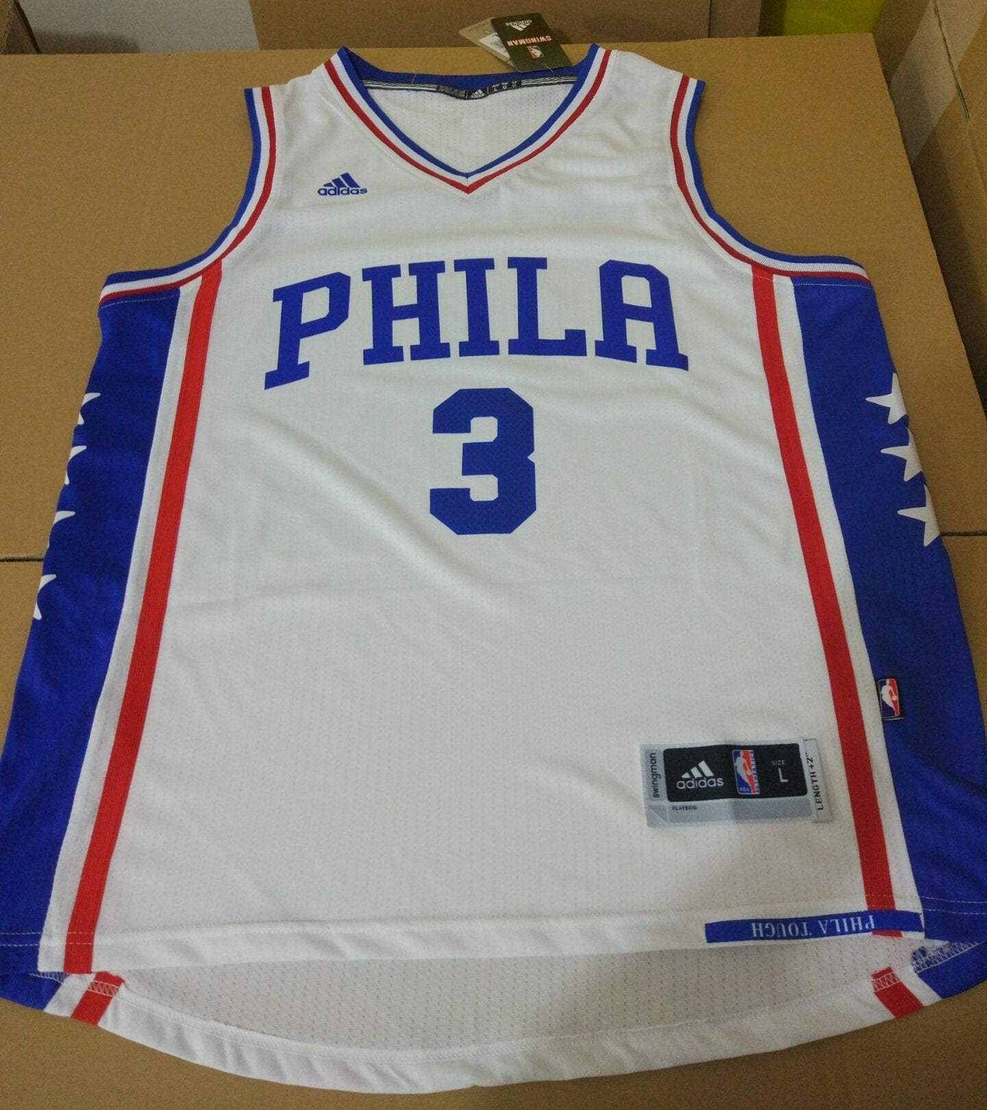 the best attitude dea09 41f56 coupon code for 3 allen iverson jersey c34d7 04b21