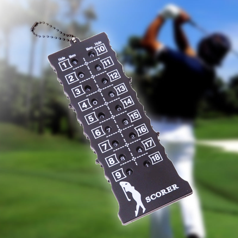 18 Hole Score Card with Key Chain