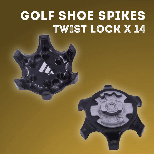 GripMax Golf Shoe Changeable Spikes - Twist Lock