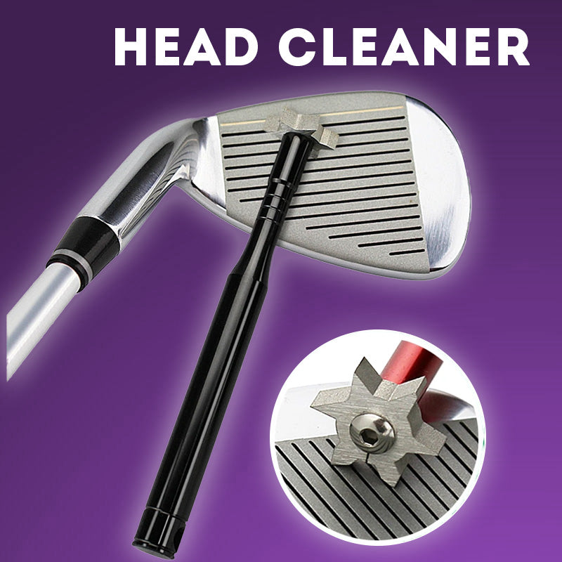 Club Head Cleaner and Sharpening Tool