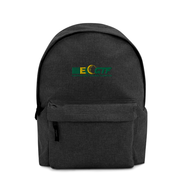 EGTF Embroidered Backpack