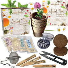Load image into Gallery viewer, Herbal Tea Growing Kit