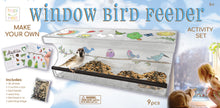 Load image into Gallery viewer, Decorate Your Own Window Bird Feeder Kit