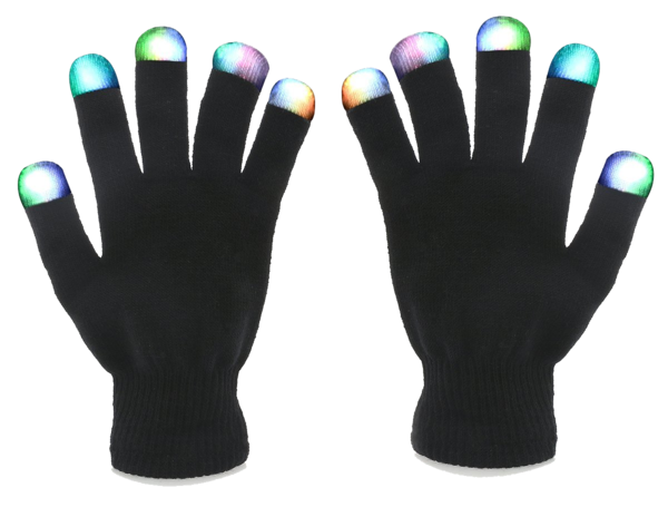 FREE TODAY - 7-Mode Flashing LED Gloves