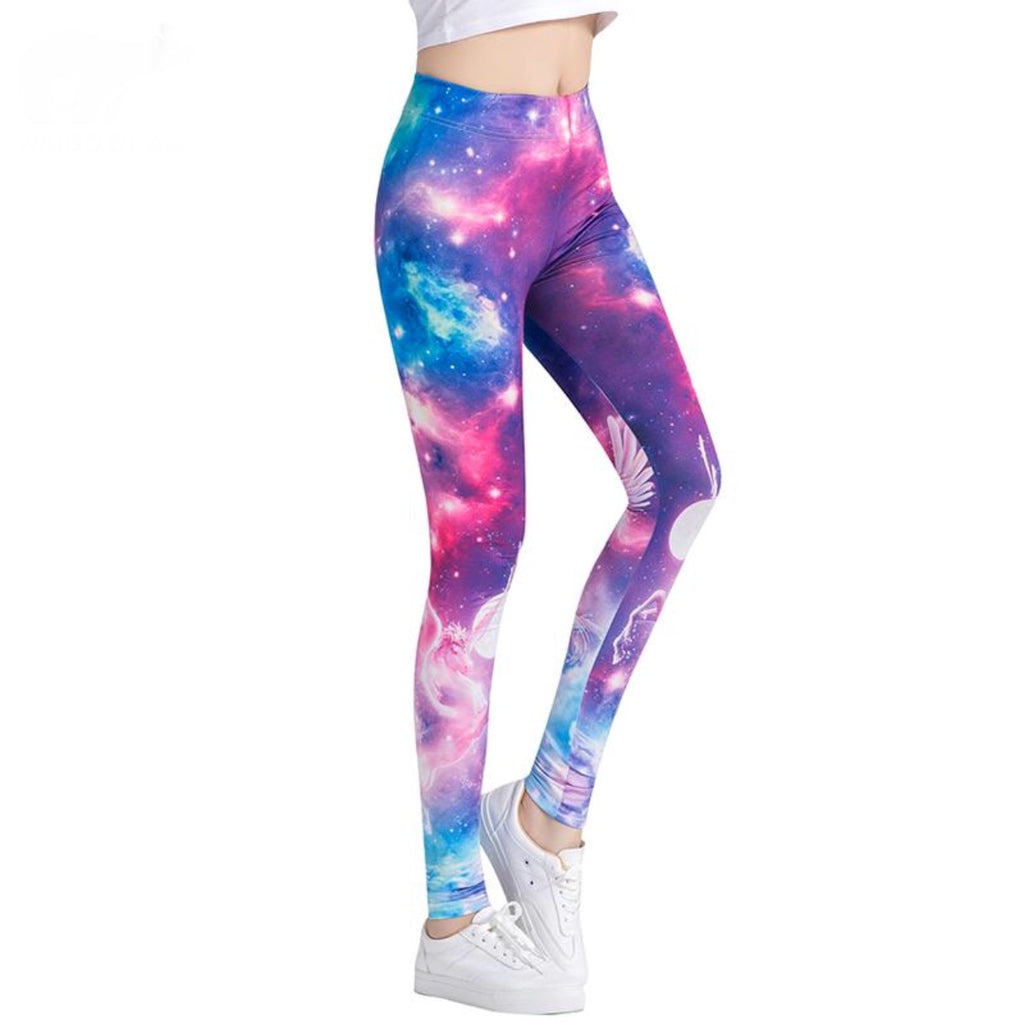Galaxy 3D Print Dance Leggings - 4 styles