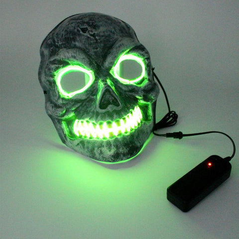 LED Skeleton Rave Mask