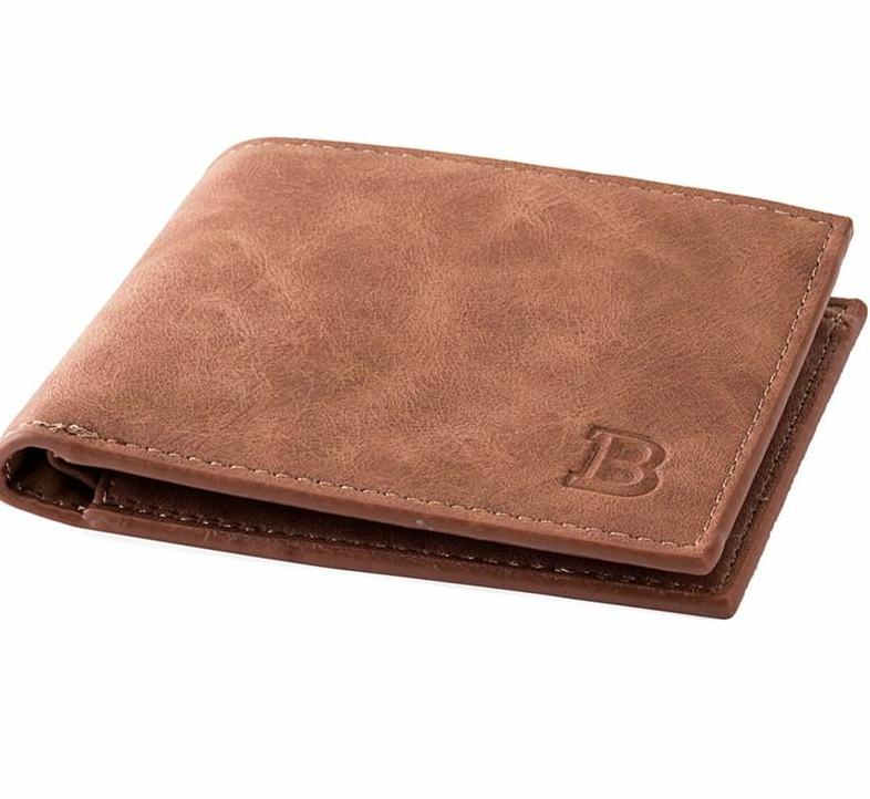 Men's Nubuck Leather Wallet