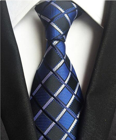 Image of Classic Men's 100% Silk Ties