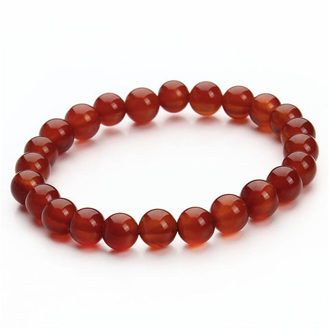 Image of Natural Stone & Agate Beaded Bracelets