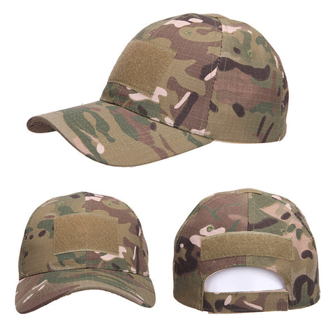U.S.A. Military Tactical Cap with Adjustable Velcro