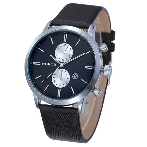 Image of NORTH® Luxury Men's Quartz Wristwatch