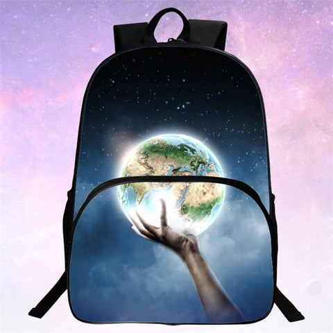 Image of Galaxy 3D Universe Rave Backpack - 22 NEW DESIGNS!