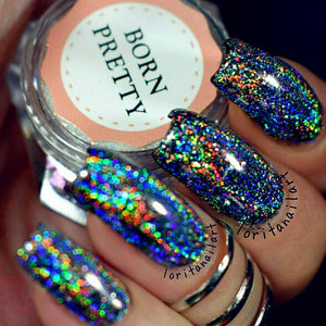 Galaxy 3D Holographic Nail Glitter