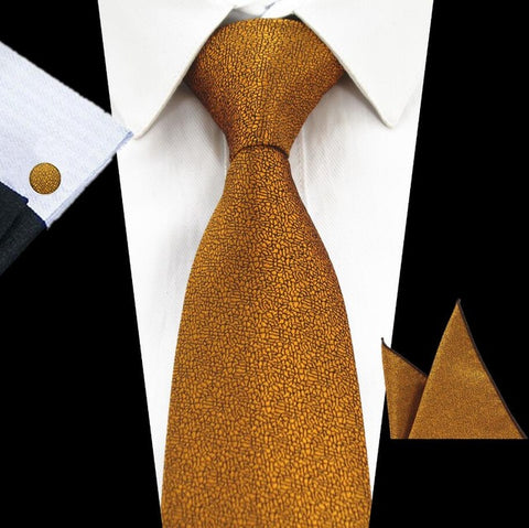 Image of Formal Silk Necktie Set
