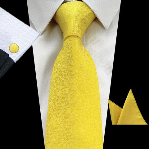 Formal Silk Necktie Set