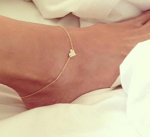 Image of Women's Heart Anklet