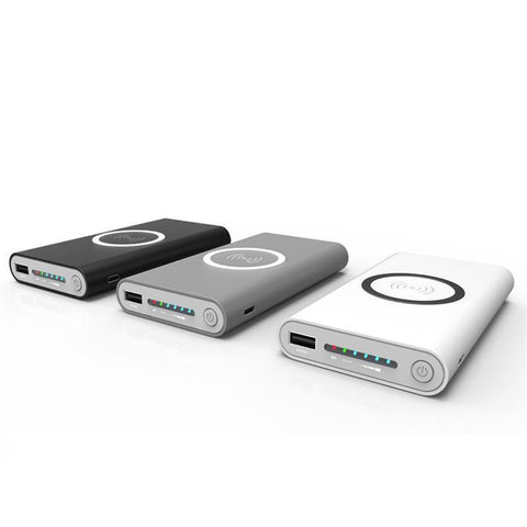 Image of Wireless Charging Power Bank High Capacity 10000