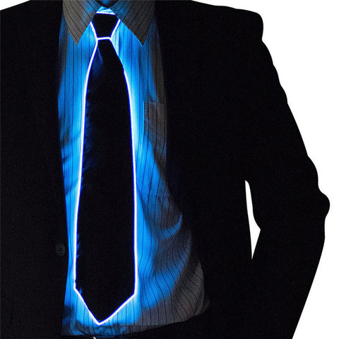 Awesome Glowing LED Tie