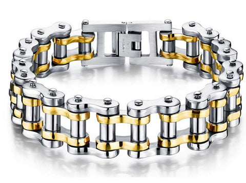 Image of Stainless Steel Chain Link Bracelet