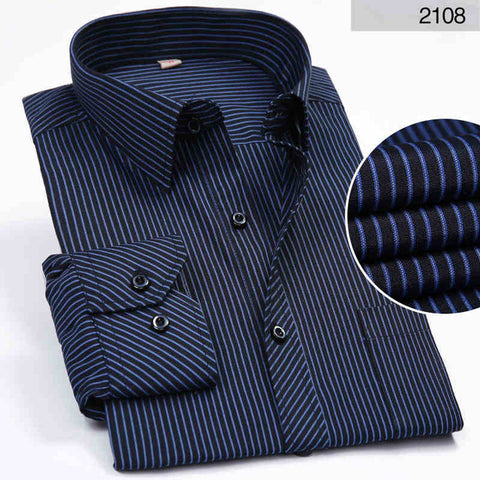Men's Long Sleeved Dress Shirts