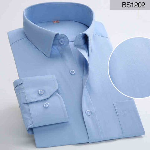 Image of Men's Long Sleeved Dress Shirts