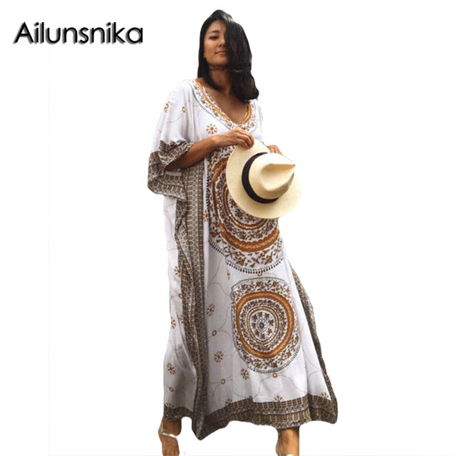 Women's Boho Beach Dress