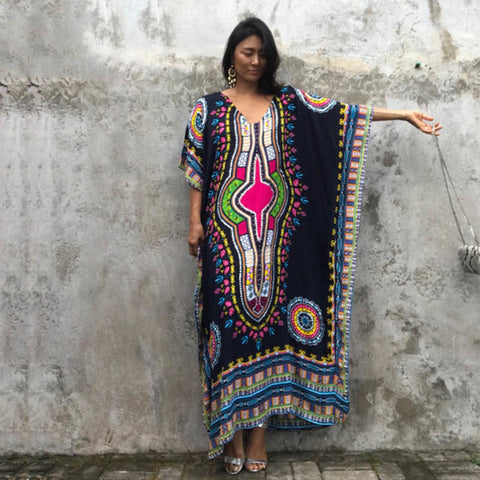 Image of Women's Boho Beach Dress