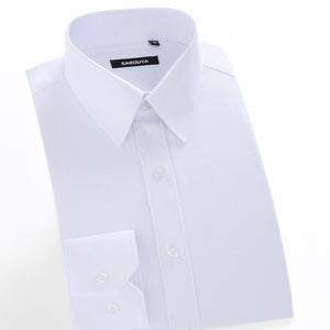 Men's Solid Color Dress Shirt