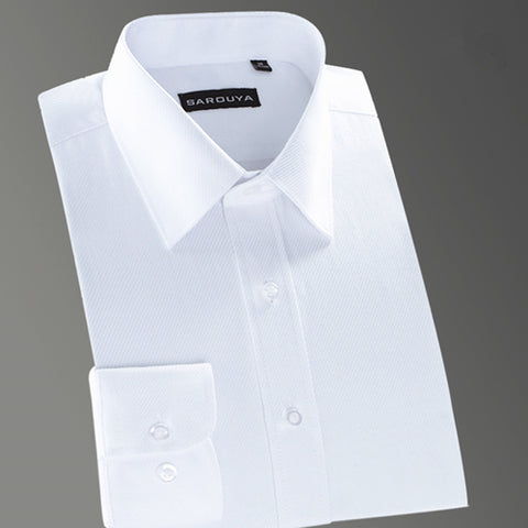 Image of Men's Solid Color Dress Shirt