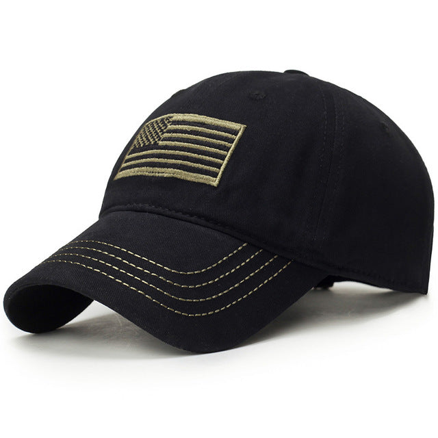 U.S.A Flag Camouflage Cap