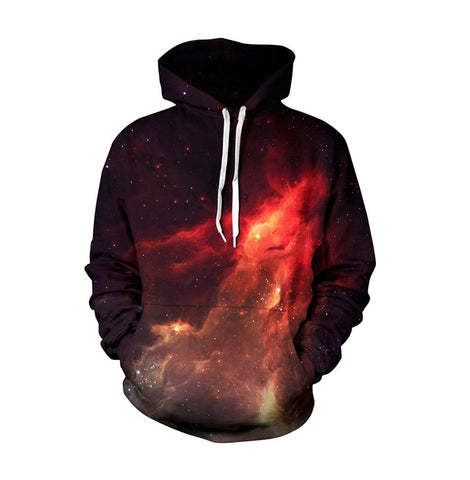 Image of Galaxy 3D Couples Hoodie Collection - 5 Designs
