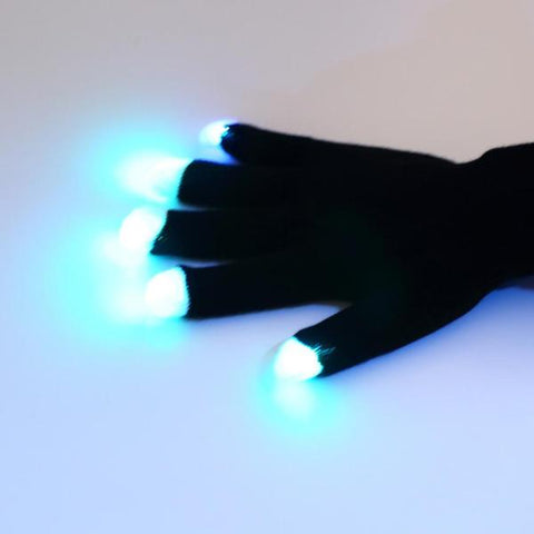 Image of FREE TODAY - 7-Mode Flashing LED Gloves