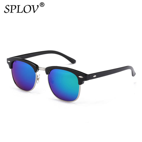 Image of Clubmaster Polarized Retro Sunglasses