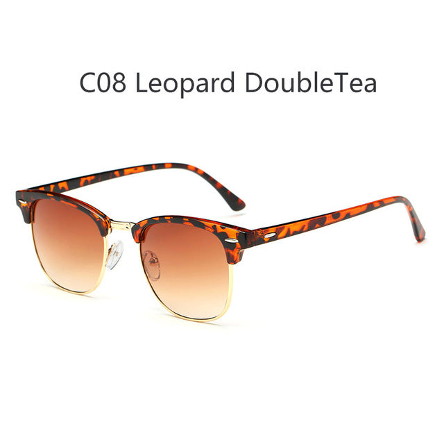 Clubmaster Polarized Retro Sunglasses