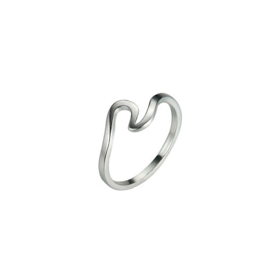 Women's Ocean Inspired Wire Ring