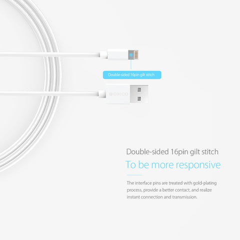 FREE TODAY! LIGHTING SPEED IOS CHARGING CABLE