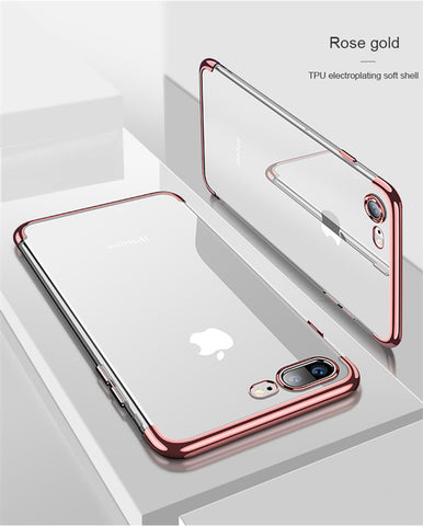 Image of Silicon Clear Protective Case for iPhone