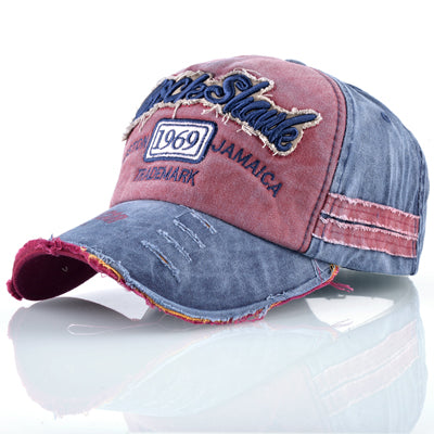 Old School Washed-Out Dad hat