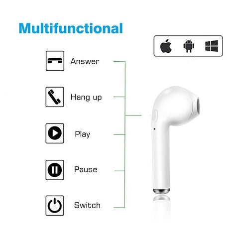 Image of iOS Wireless Bluetooth Headphones