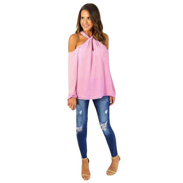 Women's  Off The Shoulder Blouse