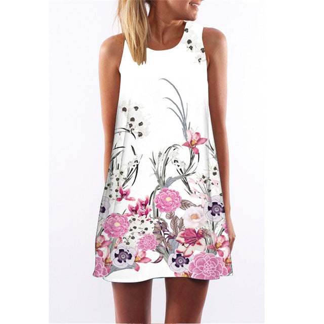Summer Mini Casual Party Dress