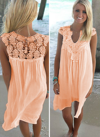 Image of Women's Chiffon Summer Dress
