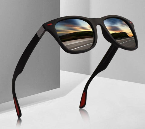 Image of Classic Wayfarer Design Sunglasses