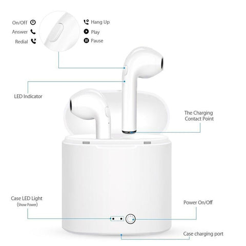 iOS Wireless Bluetooth Headphones