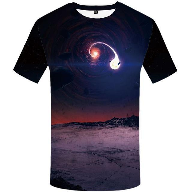 Galaxy 3D Tee Collection - 20 Styles